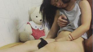 [JAV101本土精選!]真實迷姦第九彈 白皮膚美女醒來後才發現下體被幹的紅腫