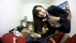 日本VR成人 操絲襪OL女友