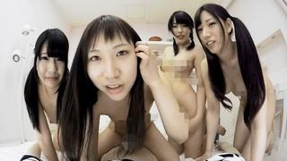 日本VR成人 四位高中女生幫你騎馬