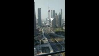 上海陸家嘴自拍影片