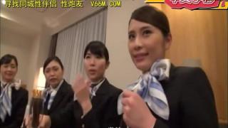 DVDMS-093 黑丝袜美腿空姐後宫大乱交!(中文字幕)