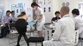 SVDVD-635 羞恥!ある日突然男女社員混合 強制OL健康診断 スペシャル 2枚組 - 1