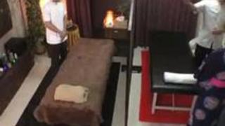 【エロ動画】ダンナ婦で浴衣着マッサージ。泥酔状態の奥さんをネトるのは簡単ですぐにイキ声が聞こえる
