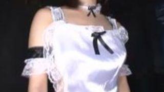 アナル フェラ 手コキ メイド ローション