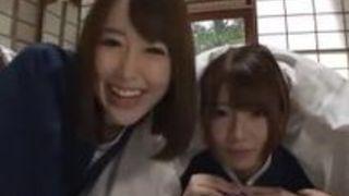 温泉 3P 篠田ゆう 美女 乙葉ななせ