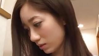 日本人の妻ビッグディルドオナニー