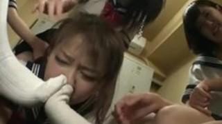 日本のレズビアンの靴の支配