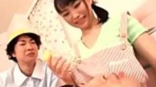日本のベビーシッター吉永茜、大自然のおっぱい - もっと日本語のフルHDのポルノをIFLJAPAN.comで