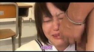 【レイプ】泣いて嫌がっても中出しされるまでレイプされるJK