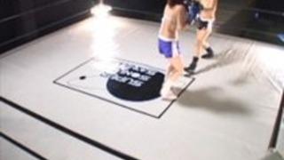 混合ボクサーの戦いファック