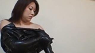 日本ラテックスキャットスーツ02