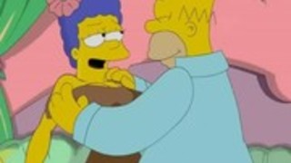 シンプソンズ変態 - ホーマーはマージをファック