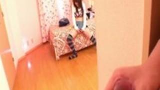 テレフォンセックスを持つ日本の女の子