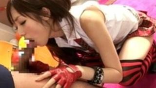 勉強をしている彼氏をノーパン美尻で可愛く誘惑'麻倉憂'S級ギャルに大量ぶっかけ!JK