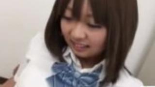 JKスタイルのカウガールのクリームパイの日本のポルノ - Jav17