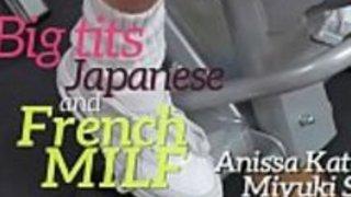 巨乳の日本とフランスの熟女(アニサ・ケイト&ミンキ・ソン)01 clip-02