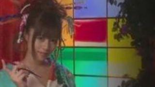 手コキ 瑠川リナ 和服 精子 ビデオ