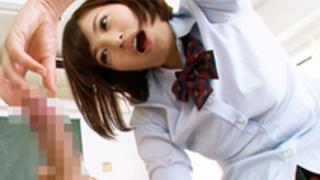 【早川瑞希】制服美人娘が顔面騎乗しながら手ヌキしまくる連続射精回春マッサージ