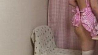 日本の十代のメイドのオナニー