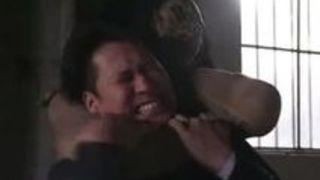 【松本メイ凌辱】爆乳のギャルの、松本メイの凌辱集団拘束イラマチオプレイがエロい!!【Sharevideos】
