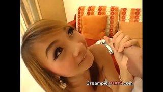 日本人?いやタイ人アップルちゃん。おっぱい、オマンコすべてに魅力ありっ!これは必見です!