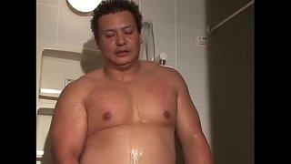 日本男児 シャワールーム オナニー