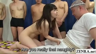 Petite JAV star Miori Hara neverending sex party Subtitles